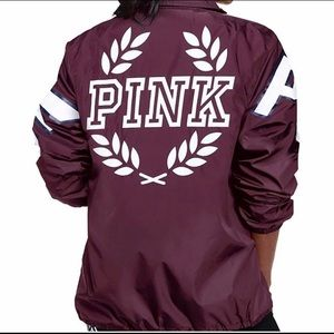 Victoria's Secret Pink  Coaches Jacket
